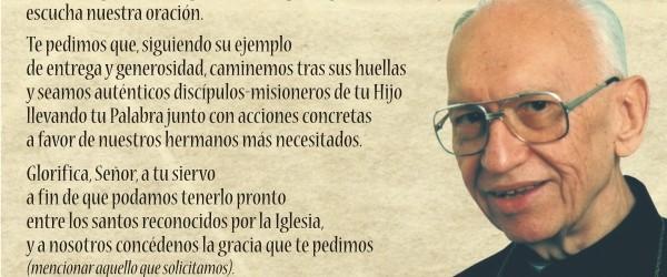 A 97 años del nacimiento de mons. Jorge Gottau recemos por su canonización